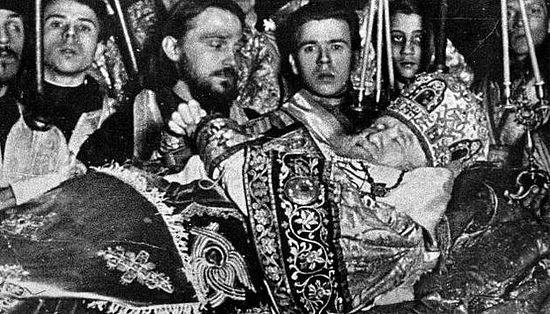 Кончина патриарха Тихона