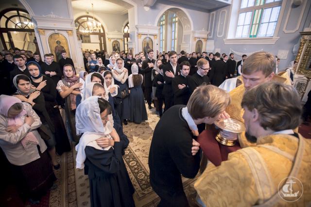 В Духовной Академии совершена Литургия апостола Иакова