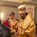 В Неделю 23-ю по Пятидесятнице ректор Академии совершил богослужения в Киеве