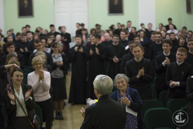 Болгарский пианист Атанас Куртаев выступил в Санкт-Петербургской Духовной Академии
