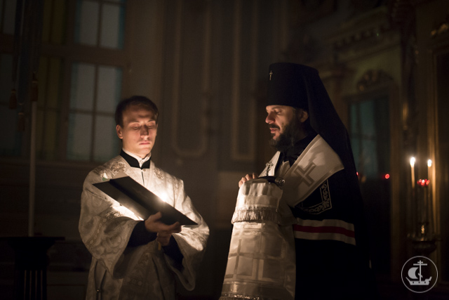 Студент бакалавриата Академии принял монашеский постриг