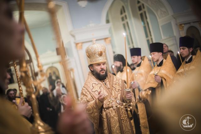 Архиепископ Амвросий рукоположил в диакона студента бакалавриата Духовной Академии