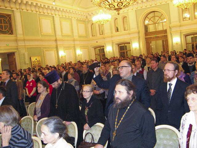 Секретарь Ученого совета принял участие в праздновании годичного акта Православного Свято-Тихоновского гуманитарного университета