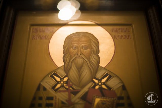 Духовная Академия молилась о здравии предстоятеля Русской Церкви