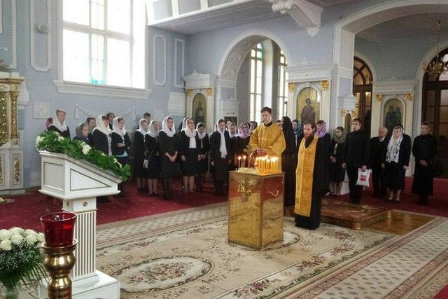 В Духовной Академии молитвенно почтили память усопших преподавателей