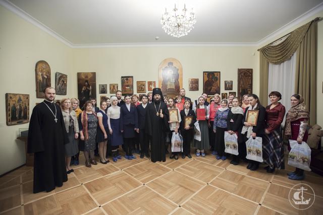 Награждены Организаторы и призеры олимпиады по Основам православной культуры