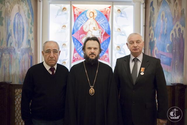 Архиепископ Амвросий вручил награды благотворителям Духовной Академии