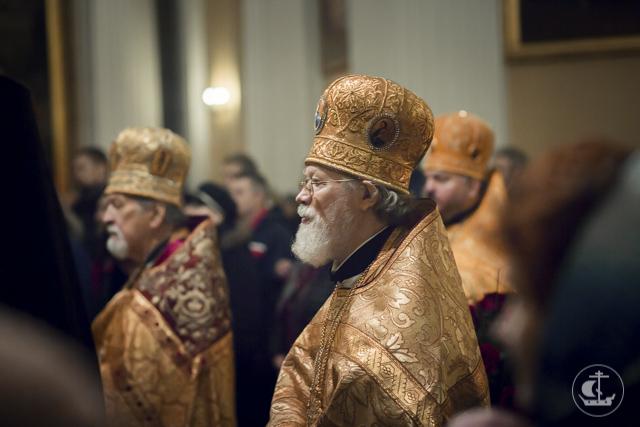 Смешанный хор Духовной Академии принял участие в престольных торжествах Александро-Невской лавры