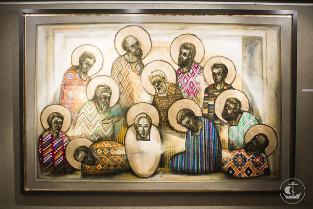 «Среда безвременного пространства». В Северной столице открыта художественно-просветительская выставка «Город апостолов»