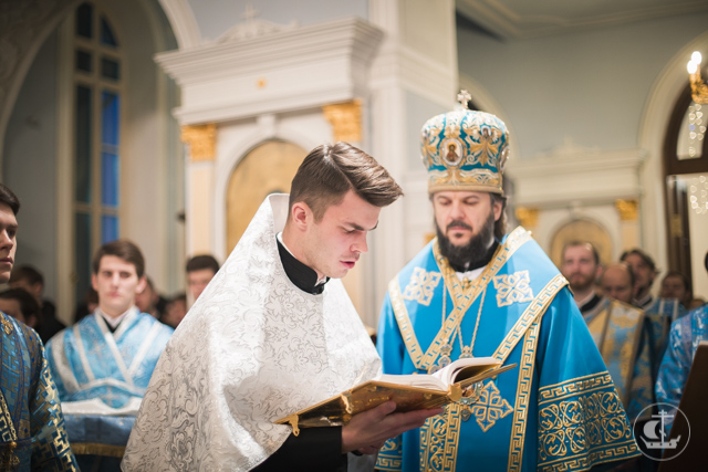 Торжества в честь образа Пресвятой Богородицы «Знамение» прошли в Санкт-Петербургской Духовной Академии
