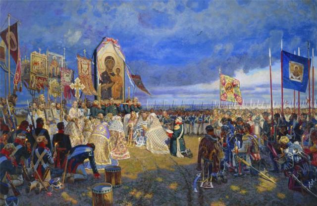 Михаил Собачинский. Бородинское поле