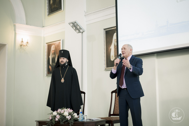 XIX Рождественские (Знаменские) региональные образовательные чтения прошли в Санкт-Петербургской Духовной Академии