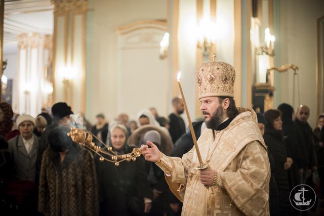 Николо-Богоявленский морской собор встречает зимний престольный праздник