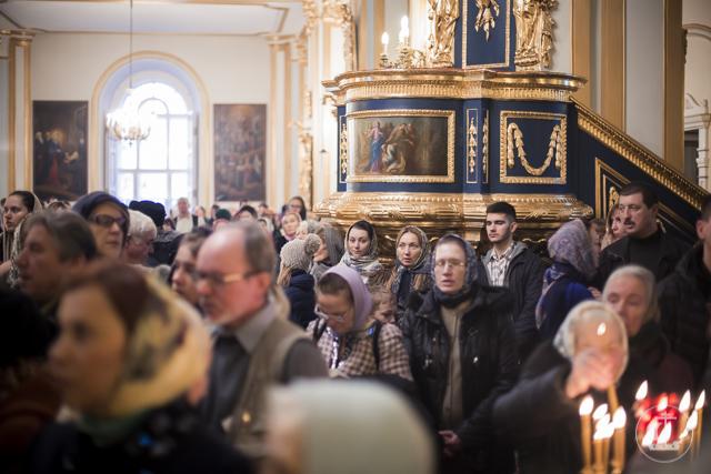 Престольные торжества прошли в Никольском морском собореСанкт-Петербурга