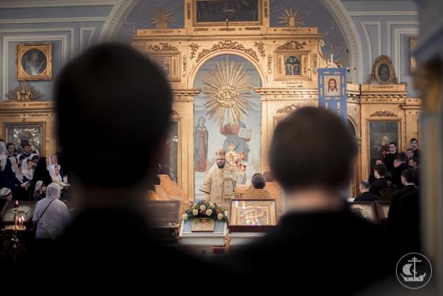 Духовная Академия почтила память святителя Амвросия Медиоланского