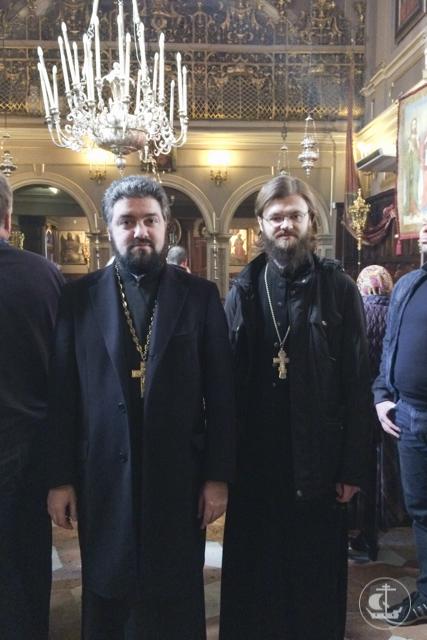 СотрудникиСанкт-Петербургской Духовной Академиипосетилисвятыни Италии и Греции
