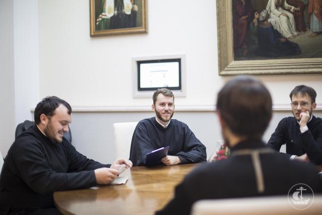 Аспиранты Духовной Академии провели семинар по использованию сурдопереводов в миссионерской работе