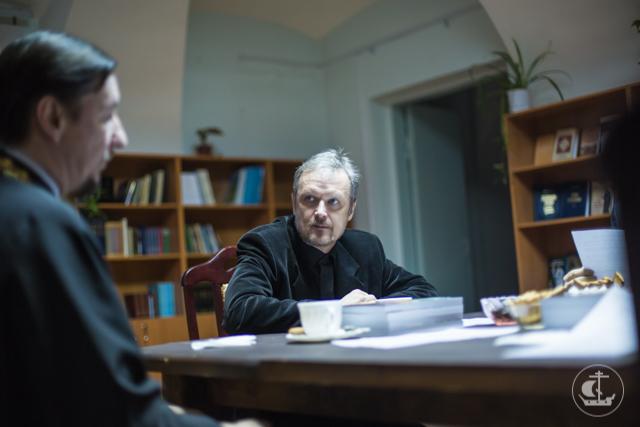 Редакция «Христианского чтения»и Издательство Академии провели совместное заседание