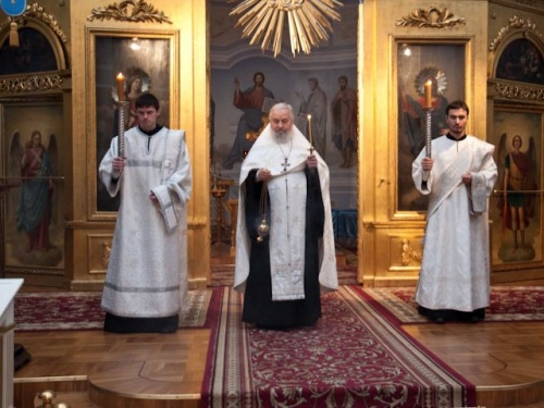 В СПБПДА БЫЛА СОВЕРШЕНА ПАНИХИДА ПО СВЯТЕЙШЕМУ ПАТРИАРХУ АЛЕКСИЮ II