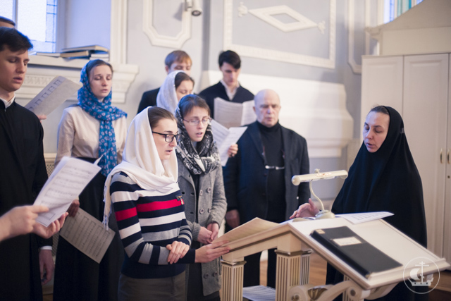 В академическом храме апостола и евангелиста Иоанна Богослова прошли богослужения Недели перед Богоявлением