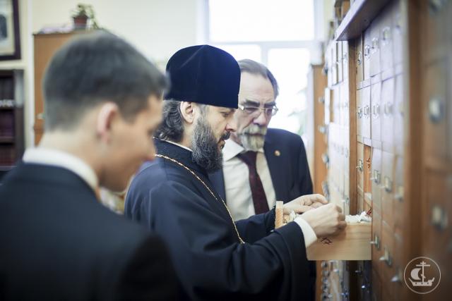 Институт лингвистических исследований и Санкт-Петербургская Духовная Академия заключили договор о сотрудничестве