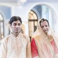 Студент из ИндииКлимент Нехамайя и Екатерина Нарираман обвенчались в академическом храме