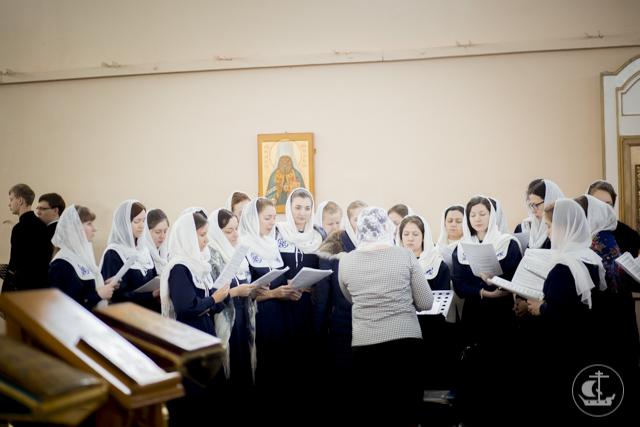 В Духовной Академии прошли богослужения Недели 34-ой по Пятидесятнице