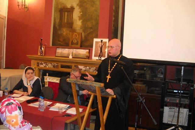 Аспирант Духовной Академии выступил с докладом по перспективным направлениям в социальном служении на XXIVМеждународных Рождественских Образовательных чтениях в Москве