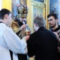 В субботу первой седмицы Великого поста в академическом храме была совершена Божественная литургия