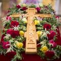 В день всемирного воздвижения Креста Господня в храме СПбПДА совершена Божественная литургия