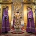 Епископ Амвросий возглавил богослужения Недели по Воздвижении в академическом храме