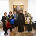 Ректор СПбПДА поздравил сотрудниц академии с именинами