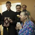 Воспитанники СПбПДА поздравили пациентов Городской больницы № 8 с Международным днём пожилых людей