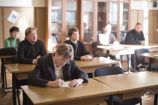 В СПбПДА прошло октябрьское заседание кафедры библеистики