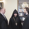 Представители Армянской Апостольской Церкви Санкт-Петербурга посетили Духовную академию