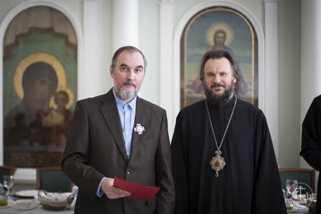 Преподаватель Санкт-Петербургской Духовной Академии удостоен Патриаршей награды
