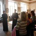 Магистранты СПбПДА провели экскурсии на тему «Православный храм» для преподавателей ОПК
