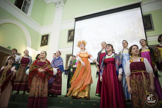 """""""Масленица честная, веселая, широкая"""": 10 марта в Академии прошел традиционный масленичный концерт"""