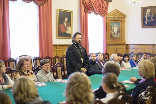 Ректор СПбПДА встретился с главой администрации Курортного района Петербурга и преподавателями ОПК
