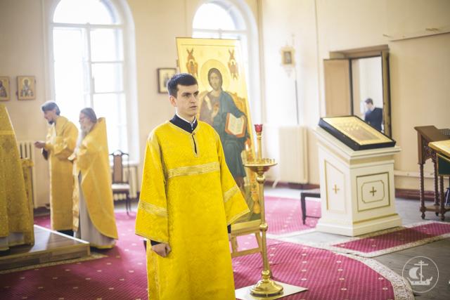 Аспирант Духовной Академии рукоположен в сан диакона