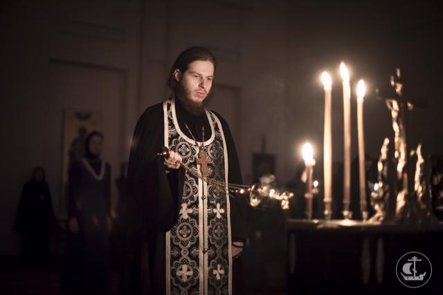 В храмах Духовной Академии совершено чтение второй части канона преподобного Андрея Критского