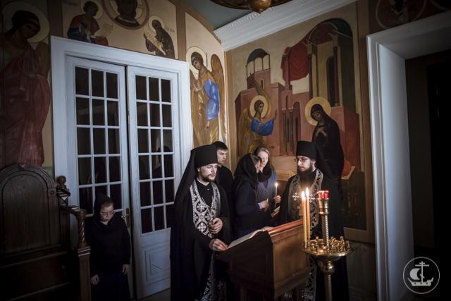 В храмах Духовной Академии совершено чтение третьей части канона преподобного Андрея Критского
