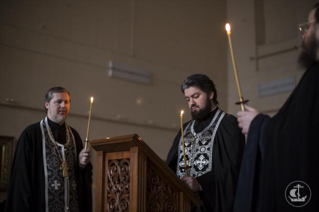 Последняя часть покаянного канона преподобного Андрея Критского прочитана в академических храмах