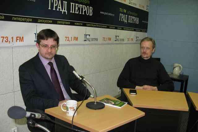 Заведующий аспирантурой Духовной Академии принял участие в записи программы на радио «Град Петров»