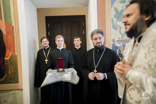 Архиепископ Амвросий отмечает 11-ю годовщину архиерейской хиротонии