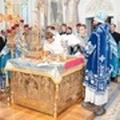 Епископ Гатчинский Амвросий совершил литургию, диаконскую и пресвитерскую хиротонии и хиротесию