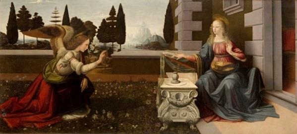 Фоторепортаж: Благовещение в картинах и иконах разных художников и эпох.