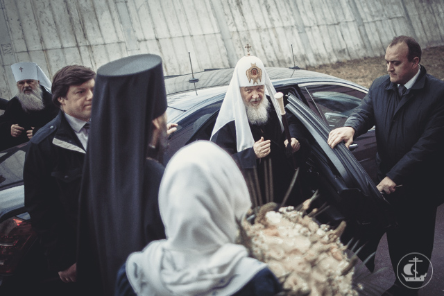 Святейший Патриарх Кирилл посетил родную alma mater
