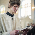 В Неделю 2-ю Великого поста в храме Духовной академии молились о мире и единстве братских народов России и Украины