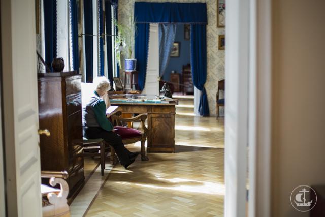 Прикасаясь к истории отечественной культуры. Студенты Академии посетили дом-музей Федора Ивановича Шаляпина
